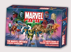 Marvel Heroes Board Game by Fantasy Flight Games