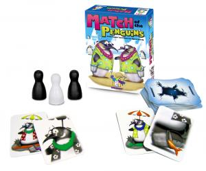 Match Of The Penguins by Gamewright