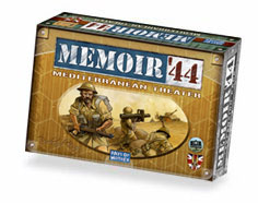 Memoir '44: Mediterranean Theater Expansion by Days of Wonder, Inc.
