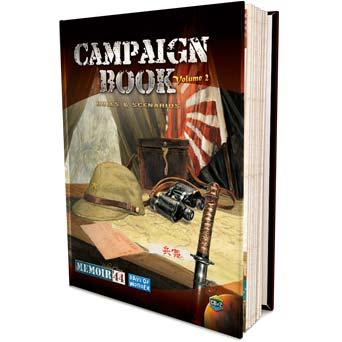 Memoir '44 Campaign Book Volume 2 by Days of Wonder, Inc.