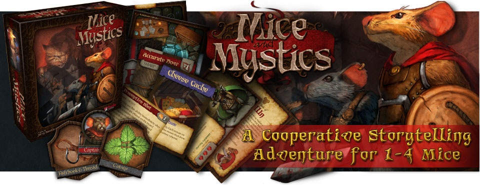 Mice and Mystics by Plaid Hat Games