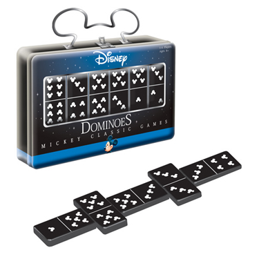 Mickeys Collection Dominoes with Tin by USAopoly