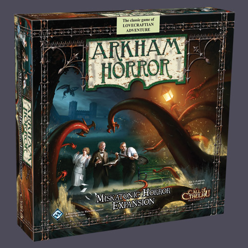 Arkham Horror: Miskatonic Horror Expansion by Fantasy Flight Games