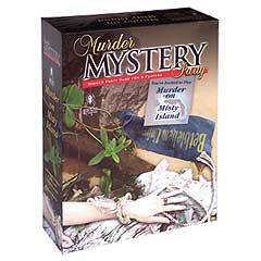 Murder Mystery Party: Murder on Misty Island by University Games