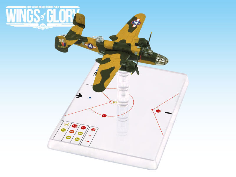Wings Of Glory WW2: B-25c Mitchell Bauer by Ares Games