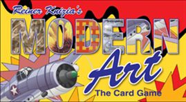 Modern Art the Card Game by Fred Distribution