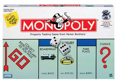 Monopoly by Hasbro