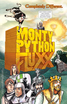 Monty Python Fluxx Deck by Looney Labs