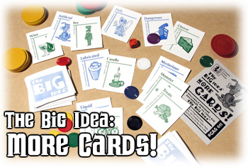 Big Idea : More Cards Expansion by Cheapass Games