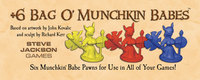 Bag O' Munchkin Babes (6 Pawns) by Steve Jackson Games