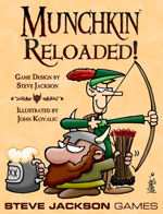 Munchkin Reloaded Booster Pack by Steve Jackson Games