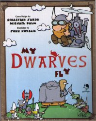 My Dwarves Fly Card Game (Meine Zwerge fliegen hoch) by Pegasus Press