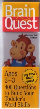 Brain Quest : My First Brain Quest : Ages 2-3 (3rd Edition) by University Games
