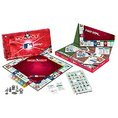 My MLB Monopoly Board Game by USAopoly