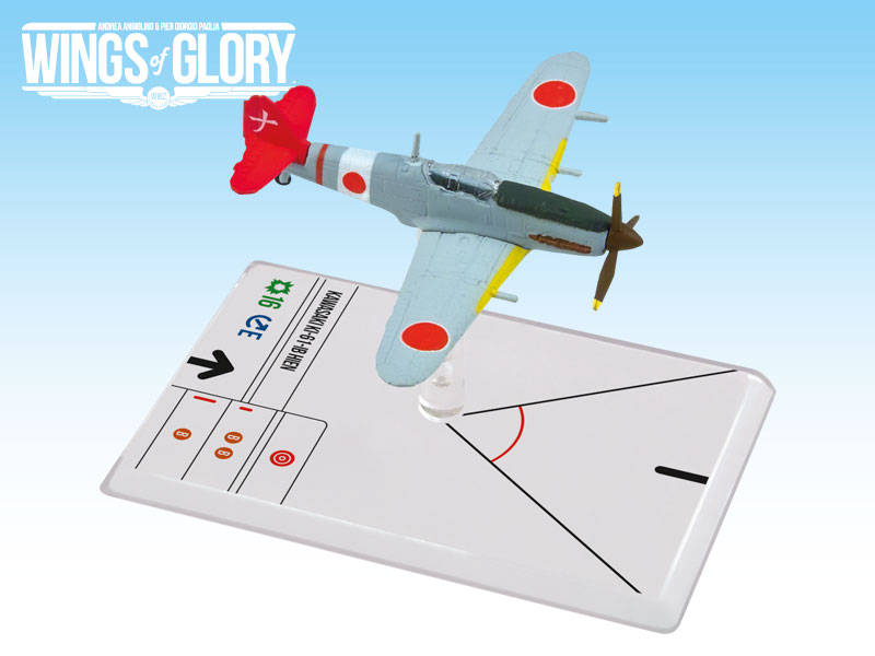 Wings of Glory WW2 : Kawasaki Ki-61-IB (Nakano) by Ares Games Srl