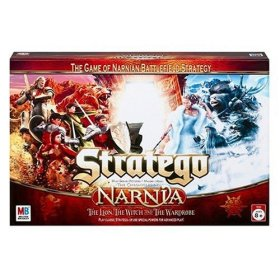 Narnia Stratego : The Game of Narnian Battlefield Strategy : The Lion, the Witch and the Wardrobe by Hasbro