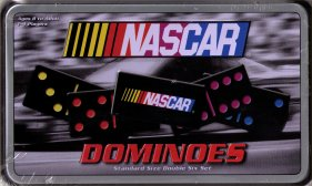 NASCAR dominoes in tin by USAopoly