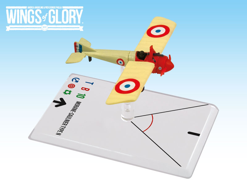 Wings of Glory WWI : Morane-Saulnier Type N (Navarre) by Ares Games Srl