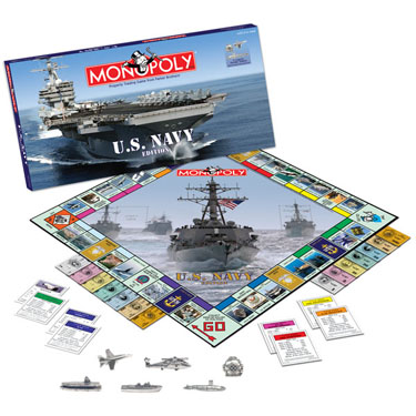 Navy Monopoly by USAOpoly