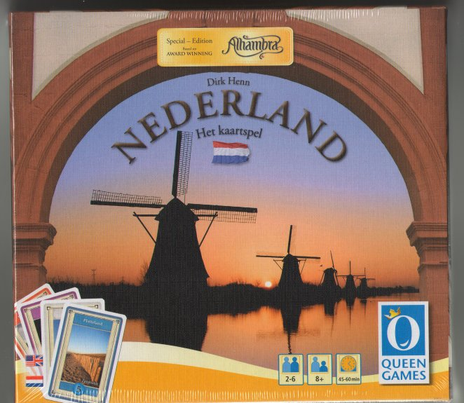 Nederland (Netherlands Card Game) by Queen Games