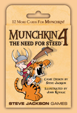 Munchkin 4: The Need For Steed (Revised) by Steve Jackson Games