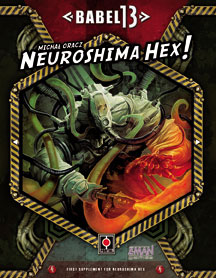 Neuroshima Hex: Babel 13 Expansion by Z-Man Games, Inc.