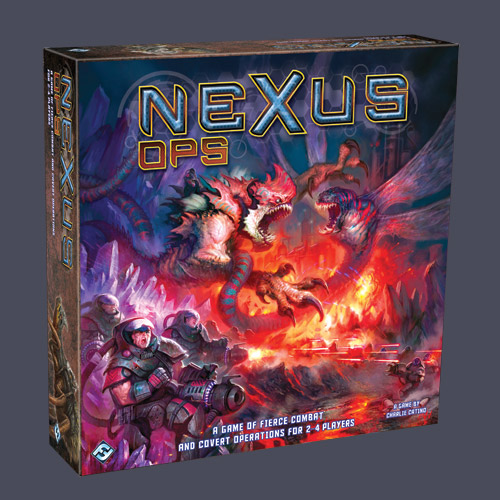 Nexus Ops by Fantasy Flight Games
