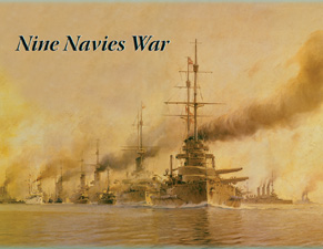 Nine Navies War by Decision Games