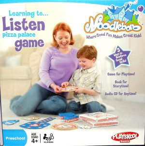 Noodleboro: Pizza Palace Game by Hasbro / Playskool Games