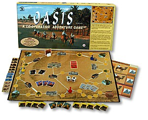 Oasis : A co-operative adventure game by Family Pastimes