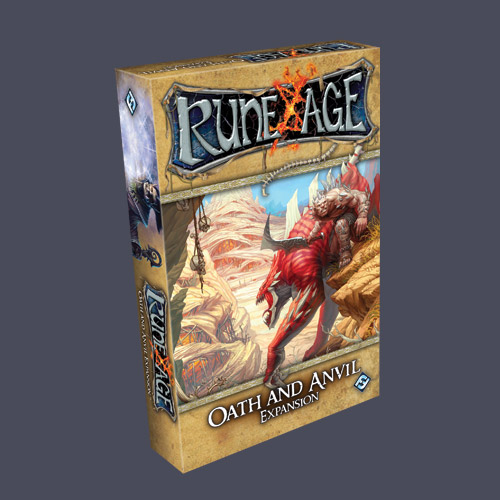 Rune Age: Oath and Anvil Expansion by Fantasy Flight Games
