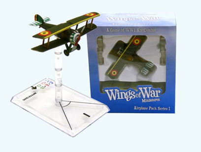 Wings Of War miniatures : Sopwith Camel Jan Olieslagers (Belgium) by Fantasy Flight Games