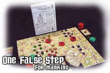 One False Step For Mankind Box Set by Cheapass Games