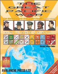 Great Pacific War by Avalanche Press Ltd.