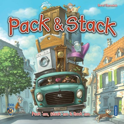 Pack & Stack by Mayfair Games