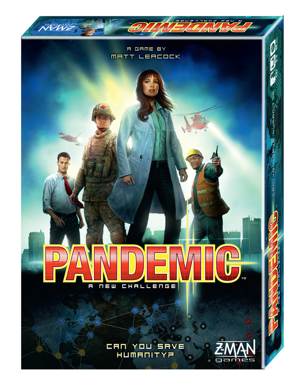 Pandemic - 2013 Edition by Z-Man Games, Inc.