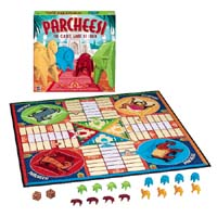 Parcheesi : The Classi Game of India by Milton Bradley / Hasbro
