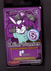 Killer Bunnies and the Ultimate Odyssey: Cool Psychic Penguin Elementals Expansion Deck by Playroom Entertainment