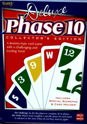 Phase 10 Deluxe Card Game by US Games Systems