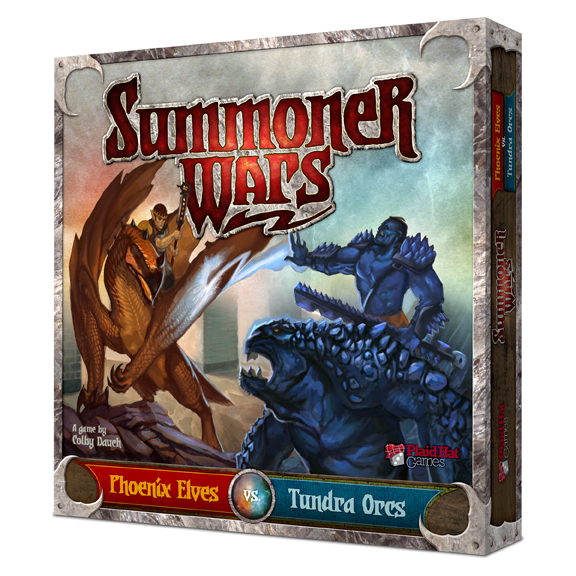 Summoner Wars: Phoenix Elves vs Tundra Orcs by Plaid Hat Games