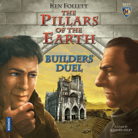 The Pillars of the Earth: Builder's Duel by Mayfair Games