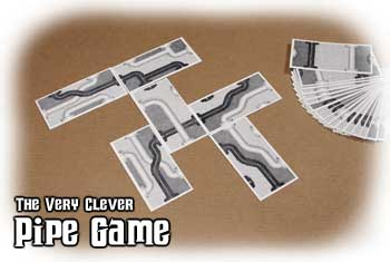 The Very Clever Pipe Game by Cheapass Games