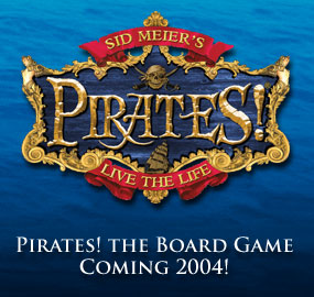 Sid Meier's Pirates!: The Board Game by Eagle Games