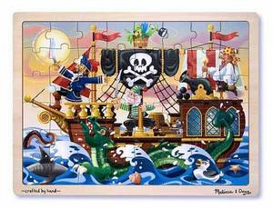 Pirate Adventure Jigsaw Puzzle - 48 Pieces by Melissa and Doug
