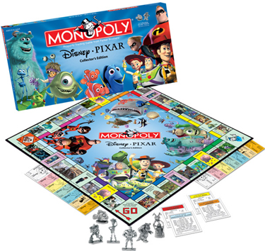 Disney PIXAR Collector's Edition Monopoly Board Game by USAopoly / Hasbro