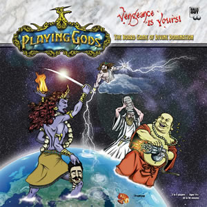 Playing Gods: The Board Game of Divine Domination by Balls Out Entertainment