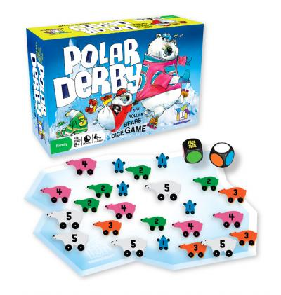 Polar Derby by Gamewright