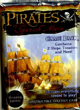Pirates of the Spanish Main CSG Pack (Unlimited Edition) by WizKids