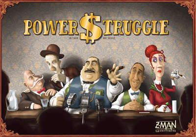 Power Struggle by Z-Man Games, Inc.