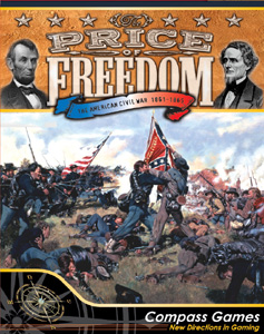 The Price of Freedom: The American Civil War, 1861-1865 by Compass Games, LLC